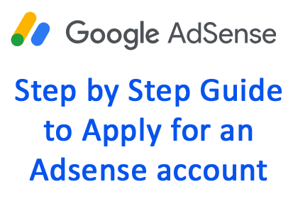 how to apply for adsense account step by step